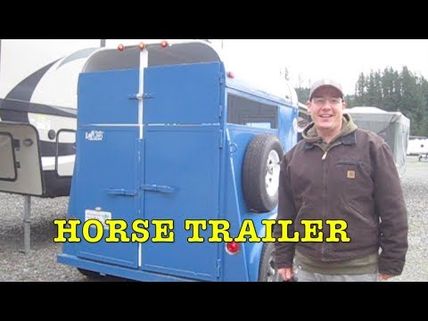 Fixing Up Horse Trailer: LED lights, Safety Chains, Windows