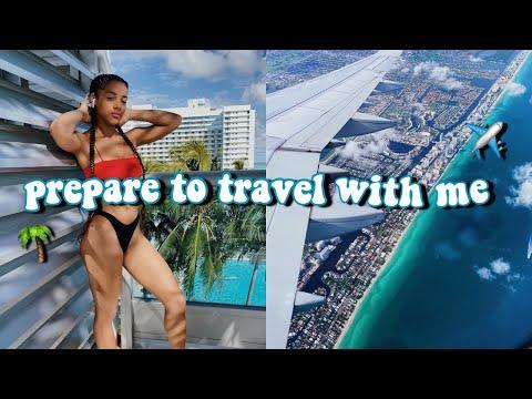 Preparing For My Trip To Miami! (packing, shopping, etc) | Azlia Williams