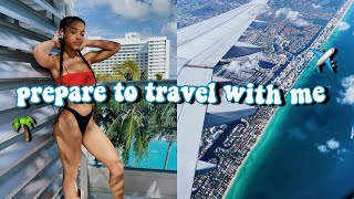 Preparing For My Trip To Miami! (packing, shopping, etc) | Azlia Williams