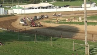 Decatur County Fairgrounds TQ Midget Feature