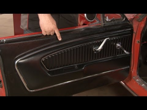 Mustang TMI Pony Door Panel 1965-1966 Installation