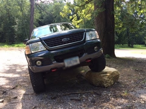 2002 Ford Explorer Build Body Lift Install 2 Youtube