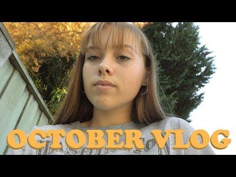 field trips, halloween, & sleepovers // vlog no12 🥞