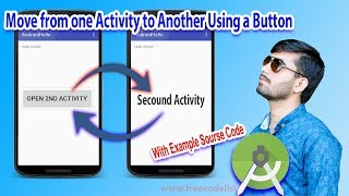 How to Move from one Activity to Another On Click a Button in Android Studio