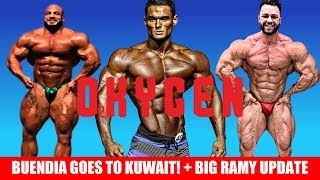 Buendia Going To Kuwait For 2020 Comeback + Big Ramy Guest Posing + Regan Grimes Update