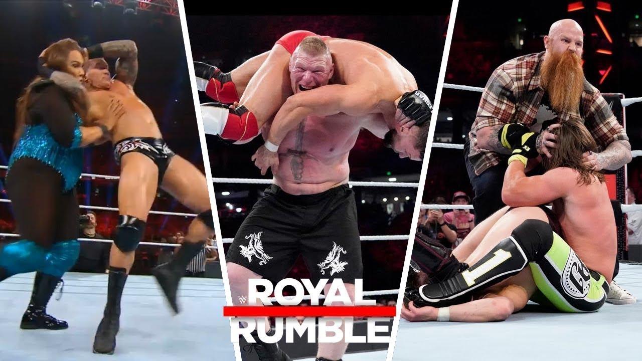 Download WWE Royal Rumble 27/1/2019 Highlights ! WWE Royal Rumble 27 JANUARY 2019 Highlights  
