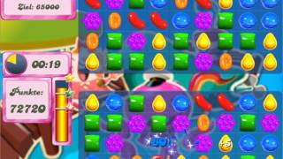 Candy Crush Saga Level 134 - No Boosters