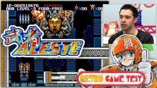 "MUSHA Aleste ""Mega Drive"" Retro Game Test - REVIEW fr vf"