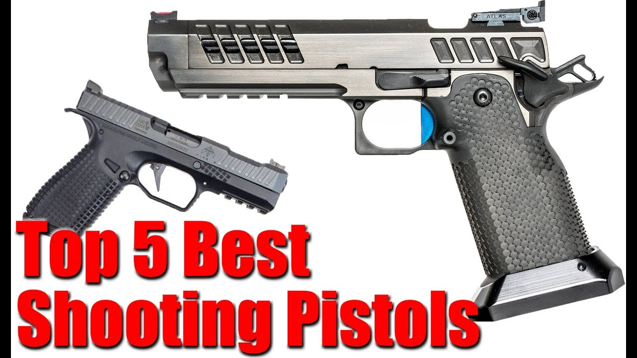Top 5 Best Shooting Pistols Youtube