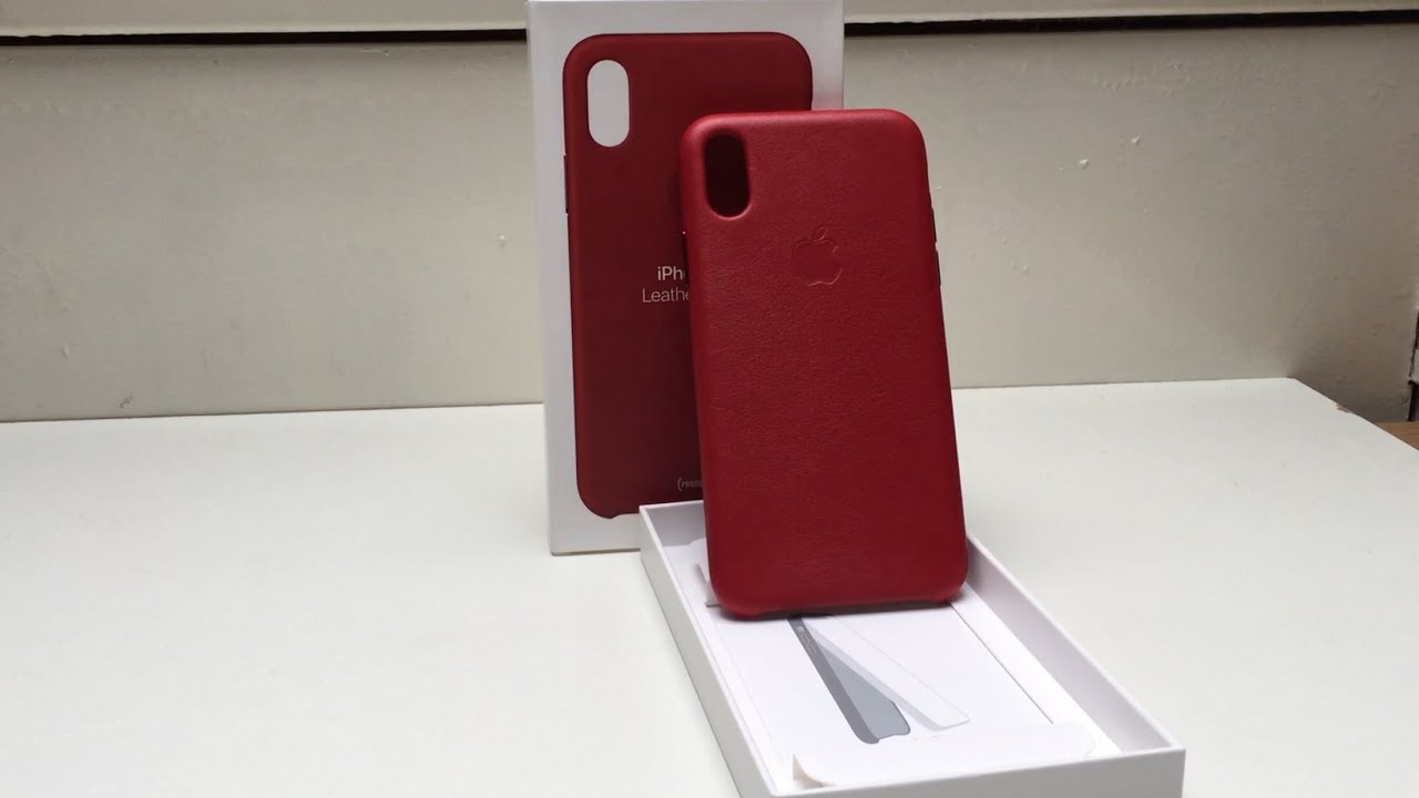 competitive price 56957 793c7 Unboxing iPhone 10 X Official Product Red Case (Amazing Case)