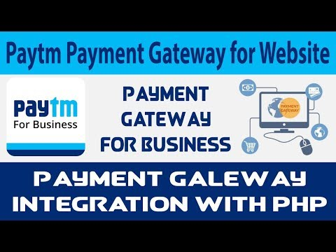 How to Integrate PayTM Payment Gateway with PHP | PayTM PG for Website