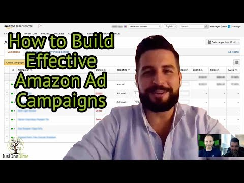 Live Interview Amazon PPC Experts: How to Build an Effective Amazon Ad Campaign