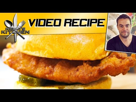 Chick-Fil-A Chicken Sandwich | Nicko's Kitchen