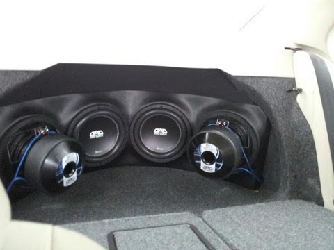 4 Dad Bd 10s On 2 Arc Audio Ks 25001s In A Jetta Trunk Cruisers Mobile Audio
