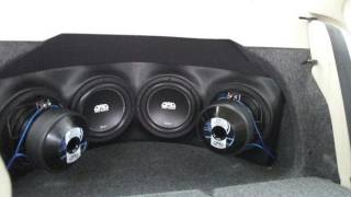 4 DAD BD 10's on 2 Arc Audio KS 2500.1's in a Jetta Trunk-Cruisers Mobile Audio