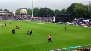 Tamil protest at Cardiff Stadium -semi final between India and Srilanka 2013