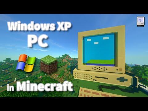 Windows XP PC In Minecraft