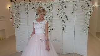 Свадебное платье цвета пудра - ХИТ!!!