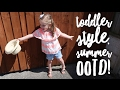 SUMMER OUTFIT IDEA FOR TODDLER GIRL || SUMMER STYLE OOTD || My Happy Ever After