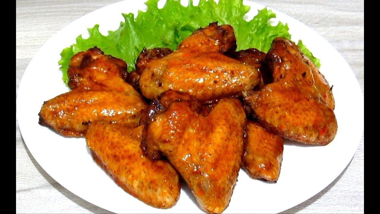 Куриные Крылышки в Духовке Самые Вкусные! Простые #Рецепты