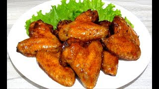 Chicken Wings in Oven Most Delicious! Simple Recipes.