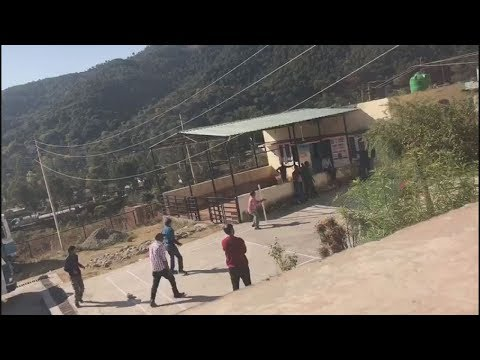 Rajouri employees play cricket during 'office' time