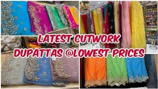 Latest Designer Cutwork Dupattas with Best Price || Courier Available || Net & Organza Dupattas