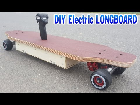 [ Tutorial ] How to make a Electric LONGBOARD