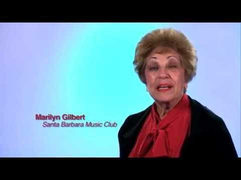 Santa Barbara Music Club Public Service Announcement