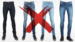 7 Reasons I HATE Skinny Jeans | Why YOU Should Avoid Men's Skinny Jeans