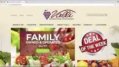 Valli International Fresh Market Online Coupon Tutorial