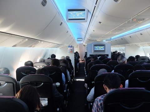 Japan Airlines B767-300ER Domestic Flight Experience: JL113 Tokyo Haneda to Osaka Itami