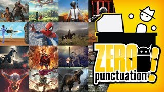 Every 2018 Zero Punctuation with No Punctuation