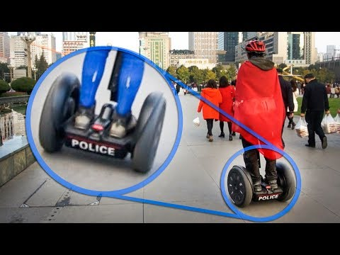 Taking POLICE Segways for a Spin