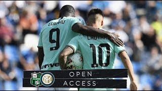 OPEN ACCESS | SASSUOLO 3-4 INTER | TWO PLUS TWO ALWAYS EQUALS FOUR!  📹⚫🔵
