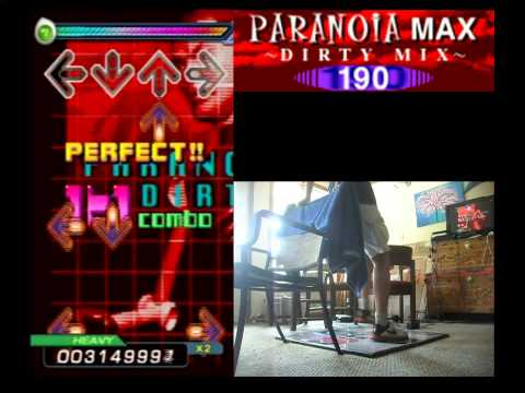 PARANOiA MAX (DIRTY MIX) - HEAVY - AA#137 (Full Combo) on DDR EXTREME (PS2, US)