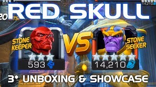 Red Skull Unboxing & Duel vs. Thanos w/ Tips (Hail Hydra Edition) | Marvel Contest of Champions