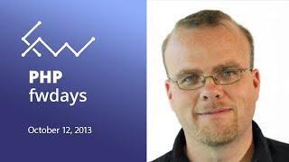 PHP Frameworks Day 2013 - Rasmus Lerdorf