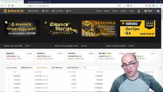 Complete Idiots Guide To The Binance Trading Platform