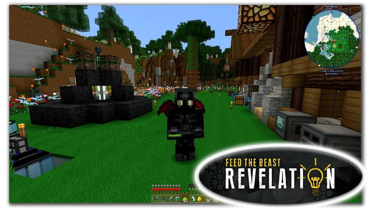 Dark Armor Apairists Suit - Minecraft FTB Revelation - Episode 22