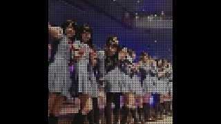 「キスだって左利き」をファミコン風にしてみたよ☆ SKE48 10th single ...
