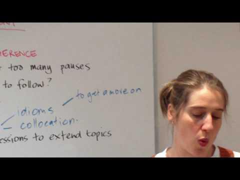 IELTS Speaking Test - How to Get a Good Score @ Meridian International School Sydney Australia