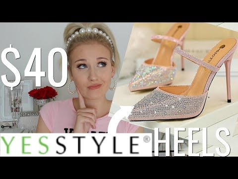 A VERY GLAM YESSTYLE HIGH HEEL HAUL