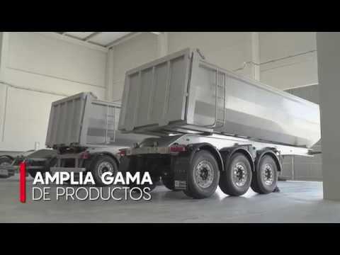 GRUPO FERRUZ: Chasis y semirremolques de aluminio FM5