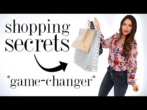 8 Sneaky SHOPPING SECRETS Every Girl Should Know! *life-changing*