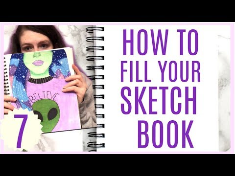5 Ways To Fill Your Sketchbook! (Part 7)