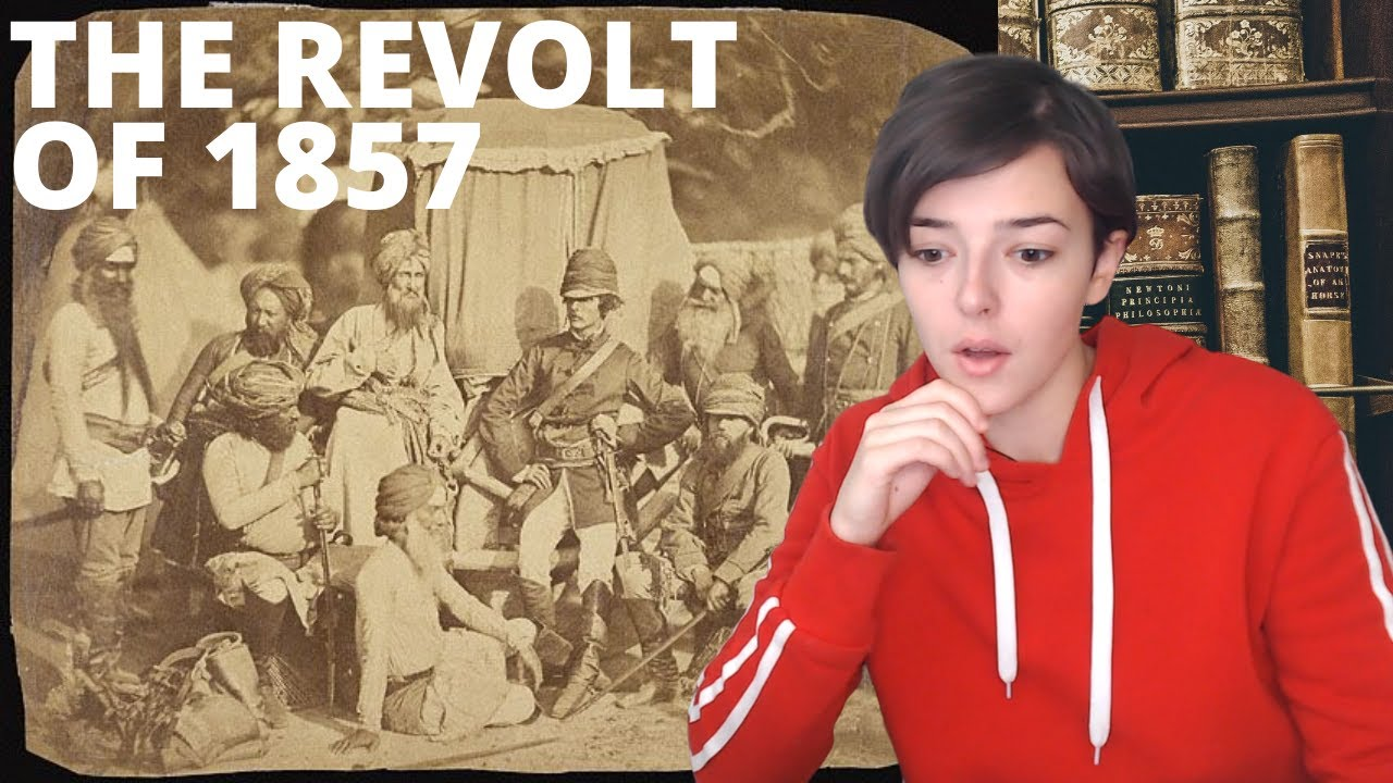 The Revolt of 1857 in India - Sepoy Mutiny - First war of Indian Independence   REACTION!!