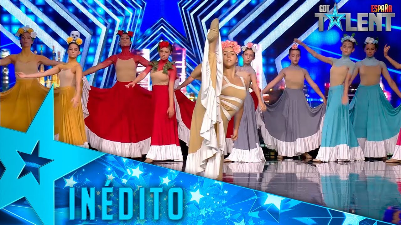Download El HOMENAJE a Frida Kahlo de este grupo de BAILARINAS | Inéditos | Got Talent España 2021