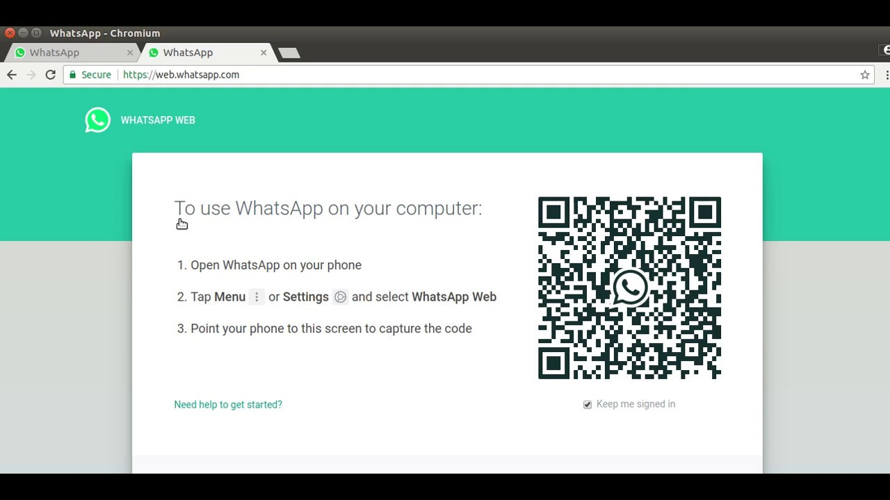 How To Use Whats App In Pc And Laptop Online With Status Feature Whats App Web In 4 Secs Qr Code
