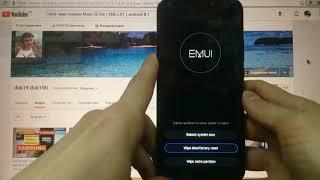 Hard reset Huawei Mate 20 lite SNE-LX1 Удаление пароля андроид 8.1